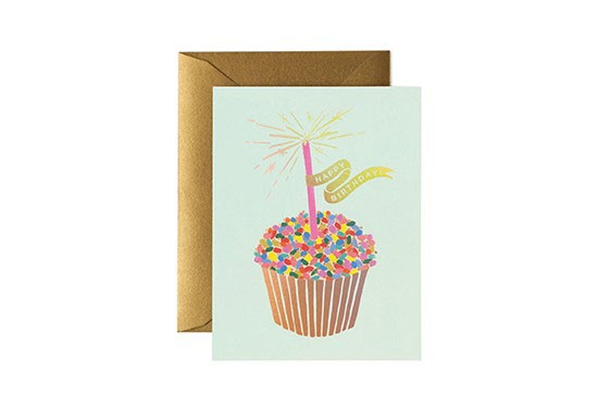 Carte postale Cupcake Birthday
