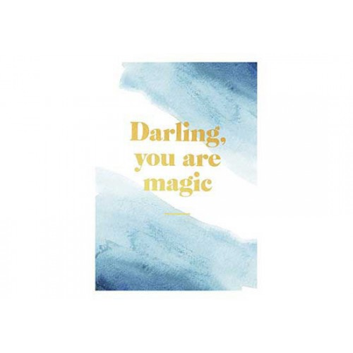Carte Darling, you are magic