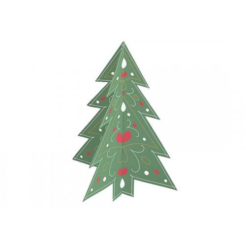 Carte 3D Arbre de Noël