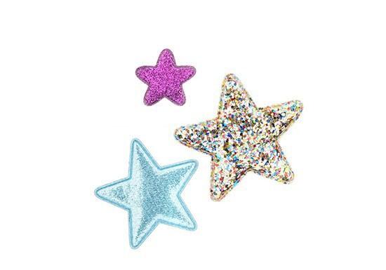 Barrettes 3 étoiles
