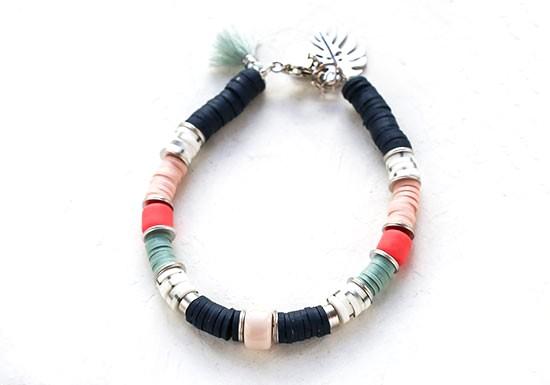 Bracelet Mykonos argenté
