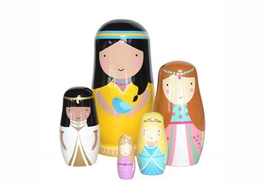 Poupées russes princesses