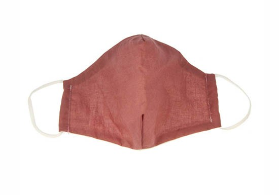 Masque enfant - dusty rose