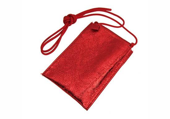 Pochette Smartphone - shine rouge