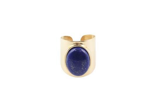 Bague manchette Gabriela - Lapis Lazuli