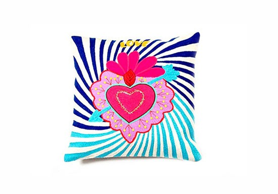 Coussin Mexican Heart