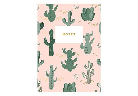 Carnet Cactus