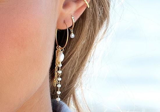 Boucles d'oreilles Ocean