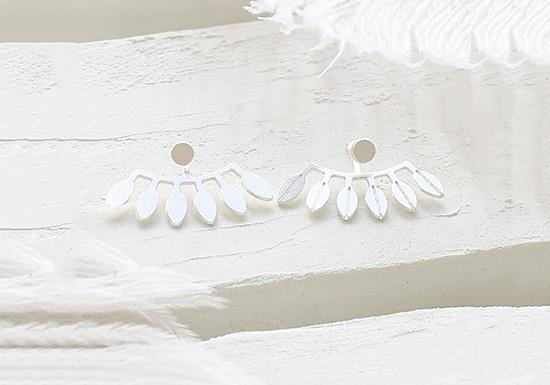 Boucles d'oreilles Amazonas argent
