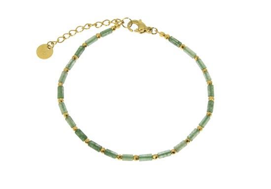 Bracelet Suzanne - Agate mousse