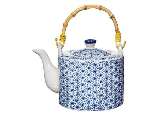 Teapot Sashiko