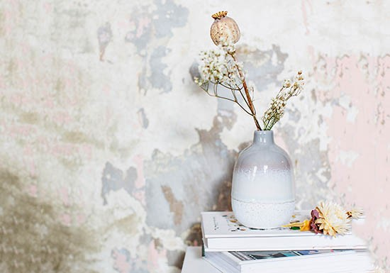 Mini vase Mojave - Gris