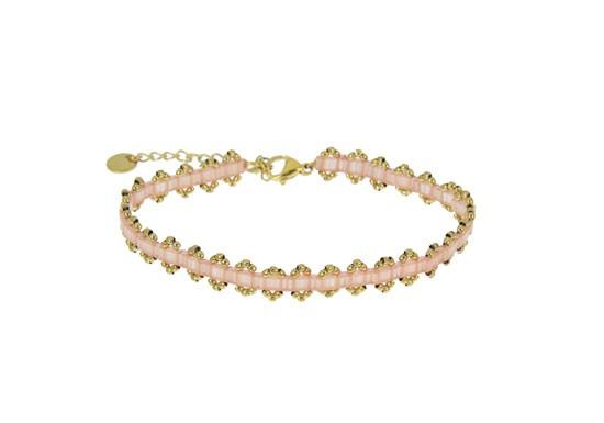 Bracelet Lou rose