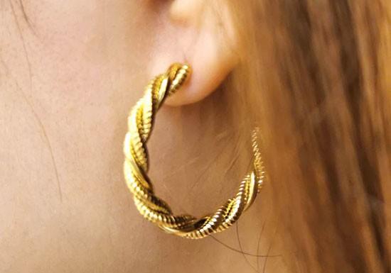 Boucles d'oreilles Hanaé