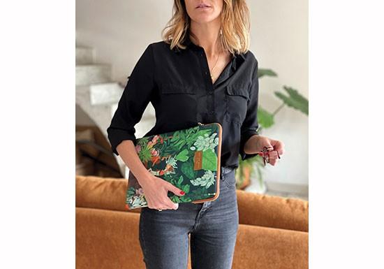 Pochette ordinateur 13'' Plant addict lady
