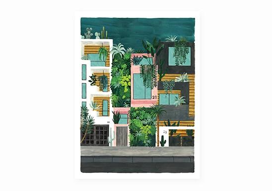 Petite affiche Buildings