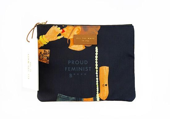 Pochette Proud Feminist