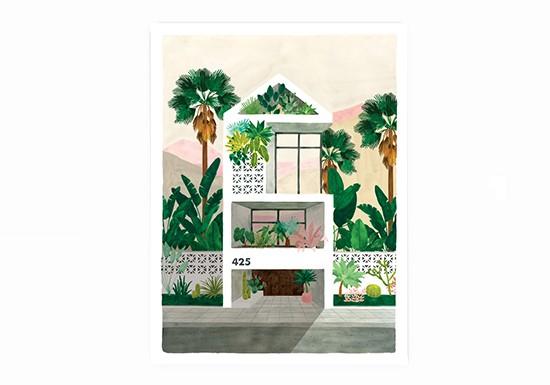 Petite affiche Dream House