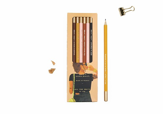 Set de crayons Proud Feminist