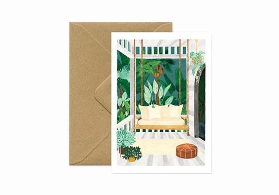 Carte postale Porche