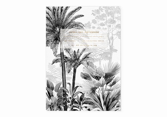 Cahier A5 - Black forest
