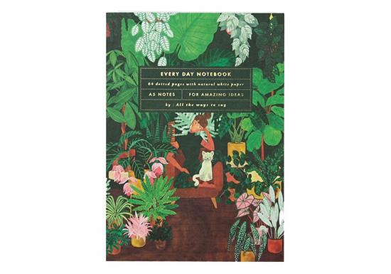 Cahier A5 - Plant Addict Lady