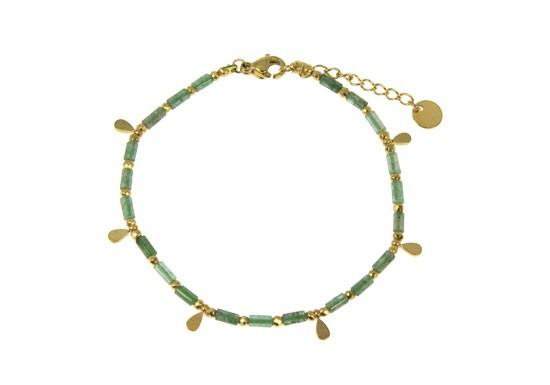 Bracelet Romane agate mousse