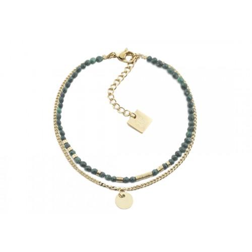 Bracelet Navajo - malachite