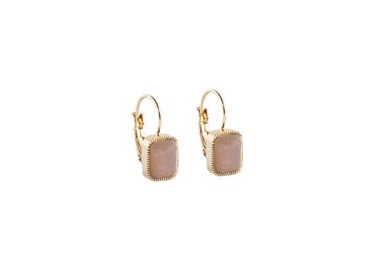 Boucles d'oreilles Murabba - pierre de soleil