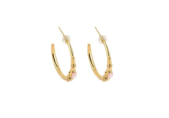 Boucles d'oreilles Shamsun - pierre de soleil