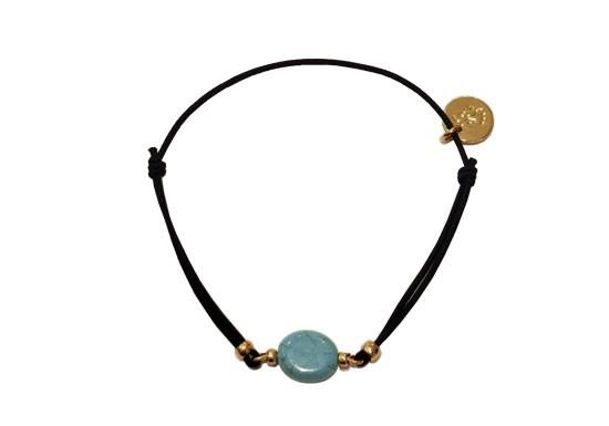 Bracelet élastique Stone Turquoise
