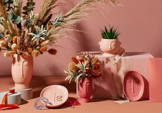 Mini vase Matt terracotta