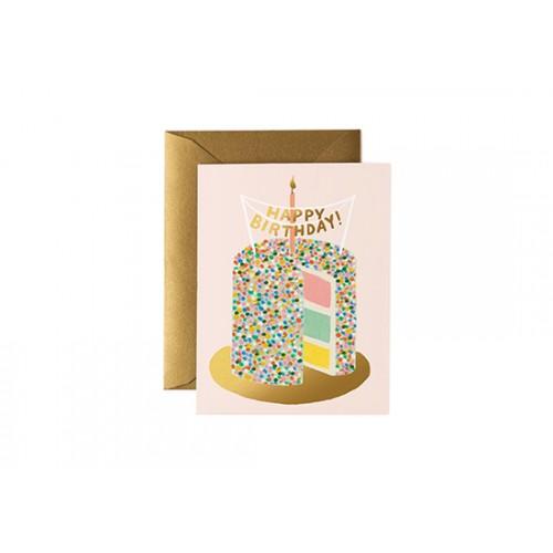 Carte postale Birthday Layer cake