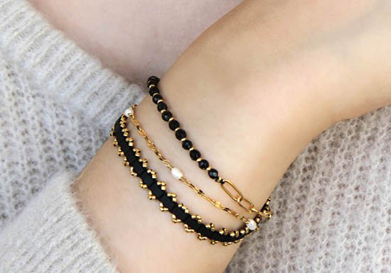 Bracelet Maria onyx