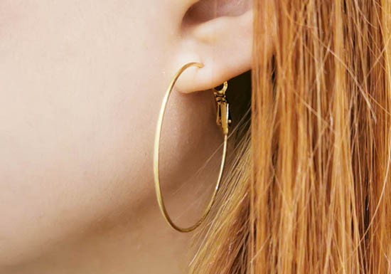 Boucles d'oreilles Caroline