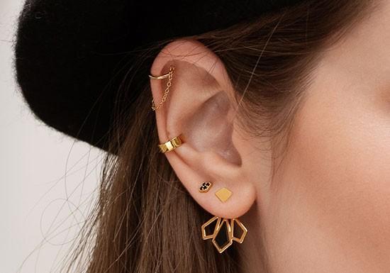 Boucles d'oreilles Marie Jacket