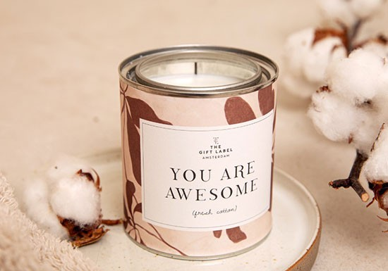 Grande bougie - You are awesome
