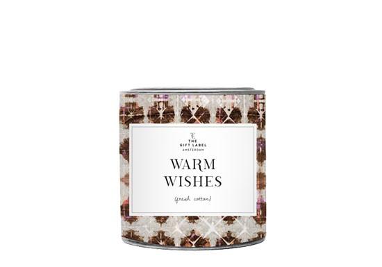 Grande bougie - Warm wishes