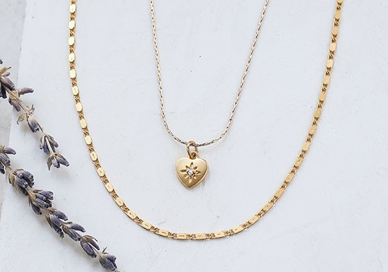 Collier Amour 2 rangs