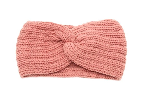 Bandeau Twisté rose