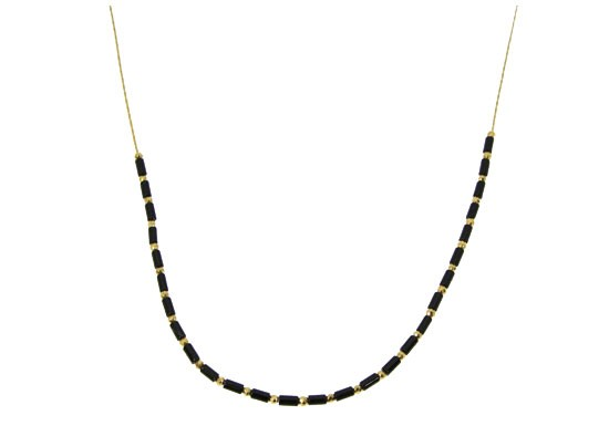 Collier Suzanne Onyx