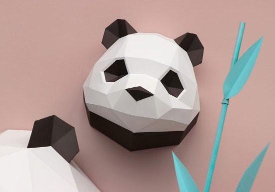 Trophée mini Panda baby
