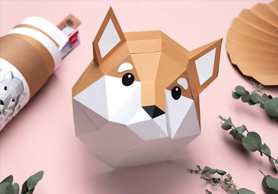 Trophée mini Shiba Inu Pup