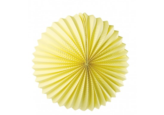 Boule lampion jaune