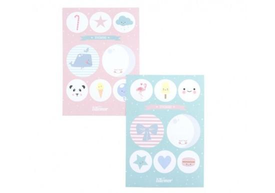 Planches Stickers Lot de 2