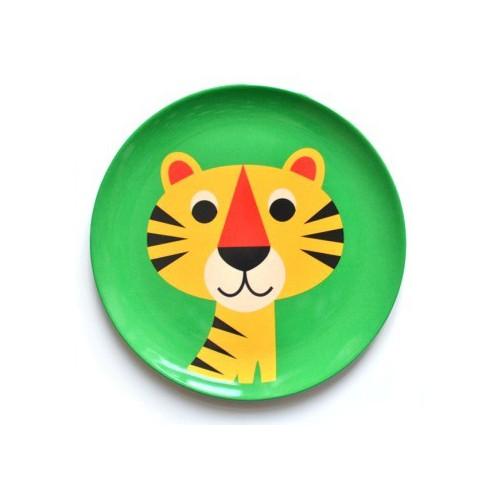 Assiette tigre