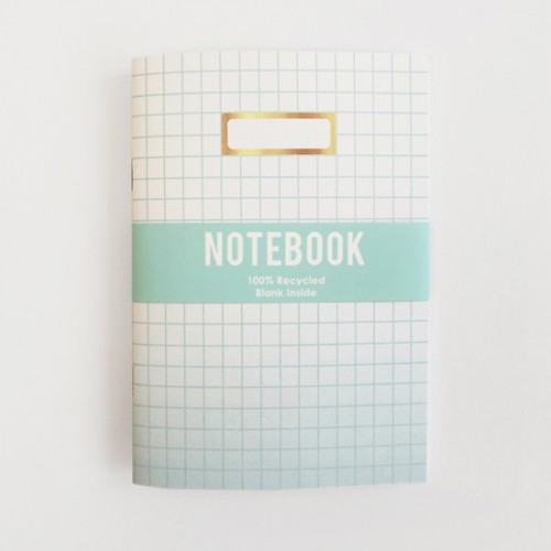 Carnet de note blush mint