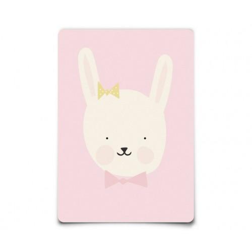 Carte Postale Miss Bunny