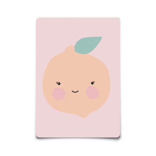 Carte Postale Orange