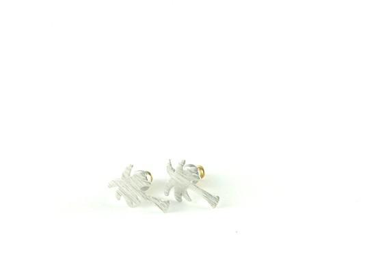 Boucles d'oreilles Palmier doré